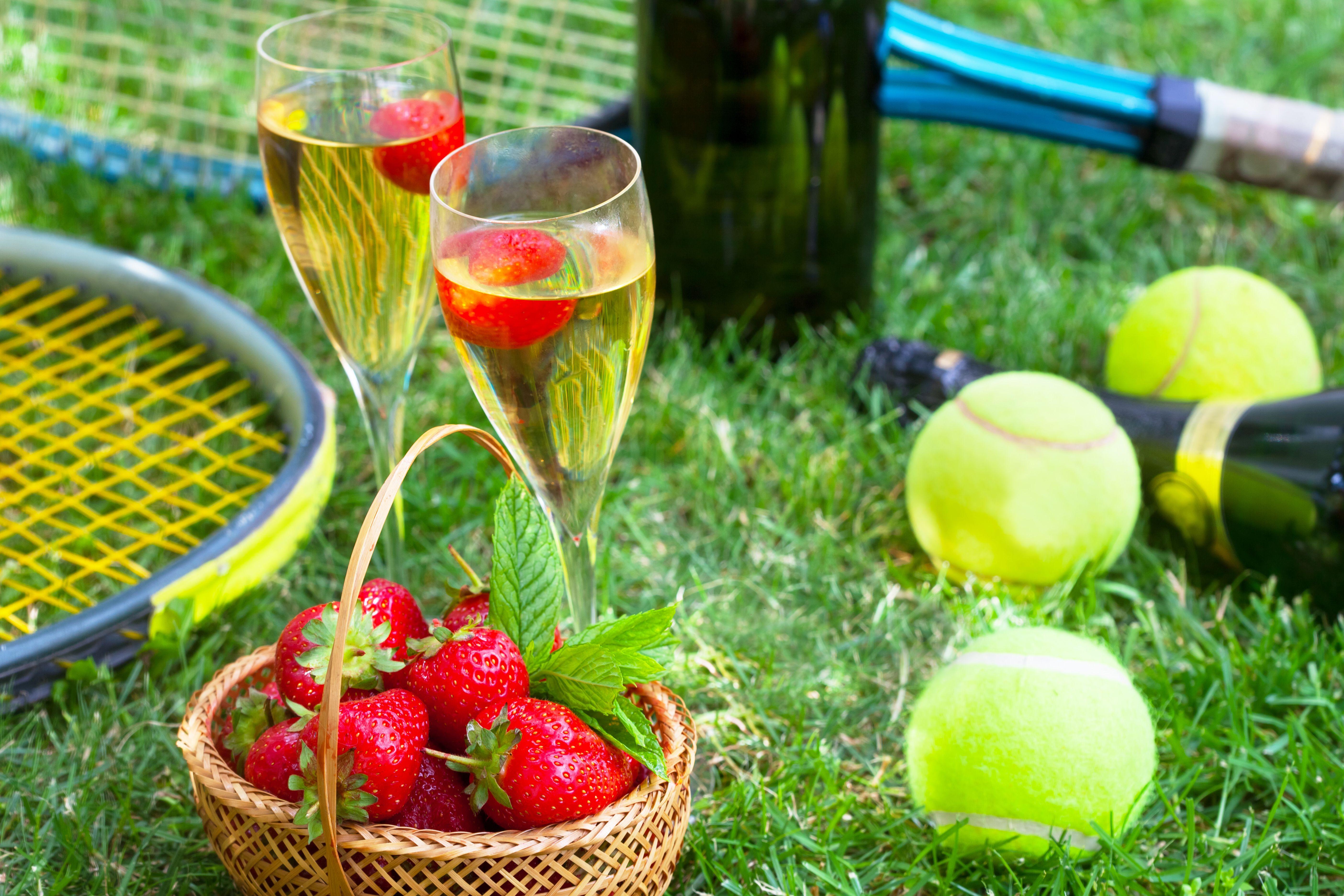 Tennis and strawberries_shutterstock_431058601