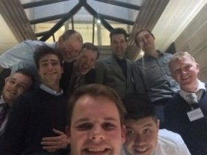 The winners selfie
